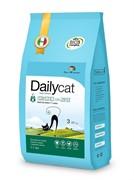 Dailycat ADULT Indoore Chicken and Rice  корм для взрослых домашних кошек с курицей и рисом