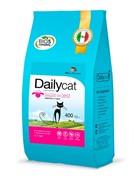 Dailycat ADULT Lamb and Rice  корм для взрослых кошек с ягнёнком и рисом