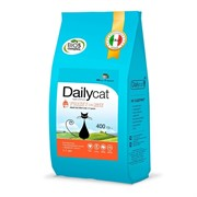 Dailycat ADULT Steri lite Turkey and Rice корм для взрослых стерилизованных кошек с индейкой и рисом