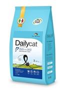 Dailycat ADULT Exi Care Fish and Rice корм для взрослых привередливых кошек с рыбой и рисом 10 кг