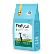 Dailycat ADULT Hairball Chicken and Rice корм для взрослых кошек для вывода шерсти с курицей и рисом 10 кг