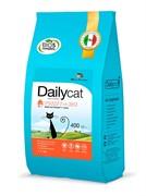 Dailycat ADULT Hairball Turkey and Rice корм для взрослых кошек для вывода шерсти с индейкой и рисом 10 кг