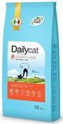 Dailycat ADULT Indoore Turkey and Rice корм для взрослых домашних кошек с индейкой и рисом 10 кг