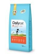 Dailycat ADULT Turkey and Rice корм для взрослых кошек с индейкой и рисом 10 кг