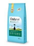 Dailycat ADULT Steri lite Chicken and Rice корм для взрослых стерилизованных кошек с курицей и рисом 10 кг