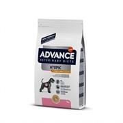 Advance беззерновой для собак при дерматозах и аллергии, с кроликом, Atopic No Grain 3 кг
