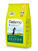 Dailydog PUPPY LARGE BREED Chicken and Rice  корм для щенков крупных пород с курицей и рисом