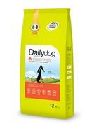 Dailydog PUPPY MEDIUM BREED Turkey and Rice  корм для щенков средних пород с индейкой и рисом