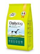 Dailydog ADULT LARGE BREED Chicken and Rice корм для взрослых собак крупных пород с курицей и рисом 12 кг
