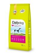 Dailydog ADULT LARGE BREED Lamb and Rice корм для взрослых собак крупных пород с ягненком и рисом 12 кг