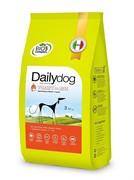Dailydog ADULT MEDIUM BREED Turkey and Rice корм для взрослых собак средних пород с индейкой и рисом 12 кг