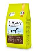 Dailydog ADULT MEDIUM&LARGE BREED Deer and Maize  корм для взрослых собак средних и крупных пород с олениной и кукурузой 12 кг