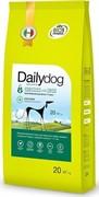 Dailydog ADULT MEDIUM&LARGE BREED Low Calorie Chicken and Rice  для взрослых собак средних и крупных пород низкокалорийный с курицей и рисом 20 кг
