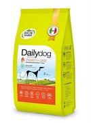 Dailydog ADULT MEDIUM&LARGE BREED Low Calorie Turkey and Rice для взрослых собак средних и крупных пород низкокалорийный с индейкой и рисом 12 кг