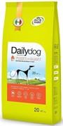 Dailydog ADULT MEDIUM&LARGE BREED Turkey and Barley корм для взрослых собак средних и крупных пород с индейкой и ячменем 20 кг