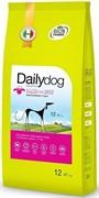 Dailydog ADULT SMALL BREED Lamb and Rice корм для взрослых собак мелких пород с ягненком и рисом 12 кг