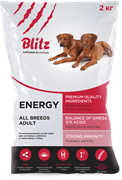 BLITZ ADULT ENERGY DOG  корм для собак 15 кг