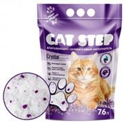 CAT STEP силикагелевый с ароматом лаванды