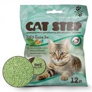 CAT STEP Tofu Green Tea  растительный комкующийся