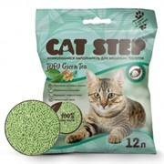 CAT STEP Tofu Green Tea  растительный комкующийся 12 л