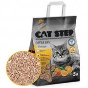 CAT STEP Extra Dry Orange впитывающий 5 л