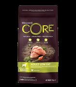 WELLNESS CORE Корм со сниженным содержанием жира из индейки для взрослых собак средних/крупных пород 10 кг