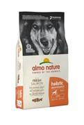 Almo-Nature Для Взрослых собак Крупных пород с Лососем (Large&Salmon Holistic)