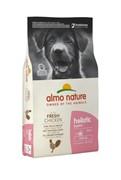 Almo-Nature Для Щенков всех пород с Курицей (Medium Puppy&Chicken Holistic)