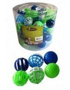 ПОДАРОК - Игрушка для кошек Мяч, пластик, 4см (Plastic cat ball)  Подарок