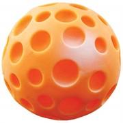 """Игрушка для собак """"Мяч-луна малая"""" винил  (желтый)"""