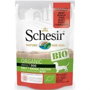 Schesir Bio Консервированный корм для взрослых собак (с говядиной)