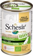 Schesir Bio Консервированный корм для взрослых собак (с курицей)