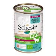 Schesir Bio Консервированный корм для щенков (с курицей)