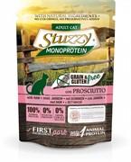 Stuzzy Monoprotein Консервированный корм для взрослых кошек (с ветчиной)