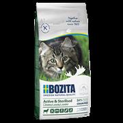 BOZITA Сухой беззерновой корм д/стерилиз. растущих, взросл. и активных кошек с ягненком 10 кг