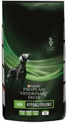 PRO PLAN® HA Hypoallergenic для диагностики и диетотерапии пищевой аллергии 3 кг