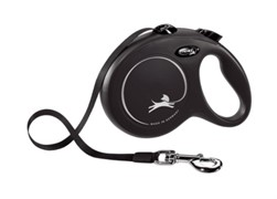 FLEXI рулетка-ремень для собак до 12кг, 3м, (New Classic XS tape 3m )