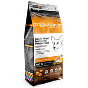 ProBalance Immuno Adult Maxi Корм сухой для взрослых собак крупных пород (15 кг)