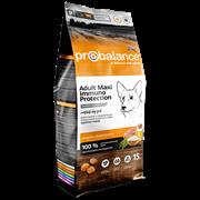 ProBalance Immuno Adult Maxi Корм сухой для взрослых собак крупных пород