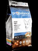 ProBalance Adult Light Корм сухой для взрослых собак всех пород 15 кг