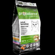Probalance Sensitive Корм сухой д/кош. с чувствительным пищеварением (курица-рис) (10 кг)