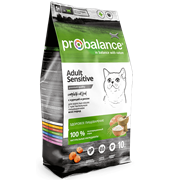 Probalance Sensitive Корм сухой д/кош. с чувствительным пищеварением (курица-рис)