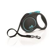 FLEXI Рулетка-ремень для собак до 25кг, 5м,  (Black Design M Tape 5m )