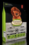 Oven-Baked для щенков всех пород со свежим мясом курицы, фруктами и овощами 11.34 кг