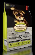 Oven-Baked для щенков маленьких пород со свежим мясом курицы, фруктами и овощами