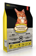 Oven-Baked  для взрослых кошек со свежей курицей 2,27 кг