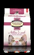 Oven-Baked  Nature's Code беззерновой, для кошек и котят с курицей 2,27 кг