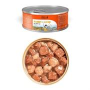 Dailycat casual line Rabbit and livers chunks консервы для кошек кусочки кролика и печень 85гр