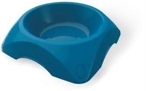 BAMA PET миска пластиковая для собак 1200 мл, синяя