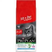 Purina Pro Plan Sterilised feline with Rabbit dry для стерилизованных кошек с кроликом 12 кг